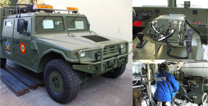 Communications System for EOD Vehicle