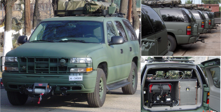 <strong>150W Falcon Communications Vehicle</strong>