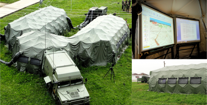 Deployable Integrated Communication & Information System (SICIB)