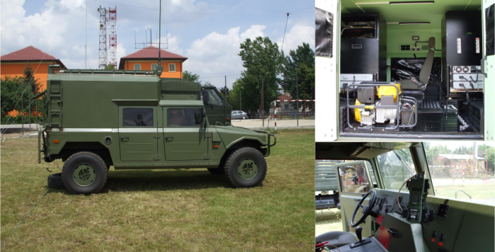 Communications System for Tactical Videoconference Vehicle