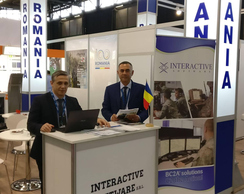 Interactive Software present at Eurosatory 2018