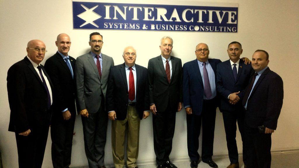 American Ambassador visit to INTERACTIVE
